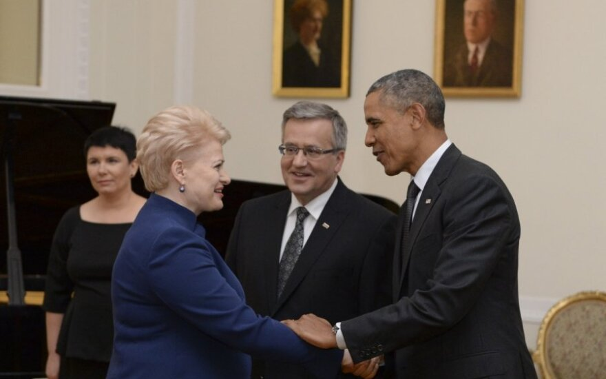 Baltic presidents to meet Barack Obama in Tallinn in September