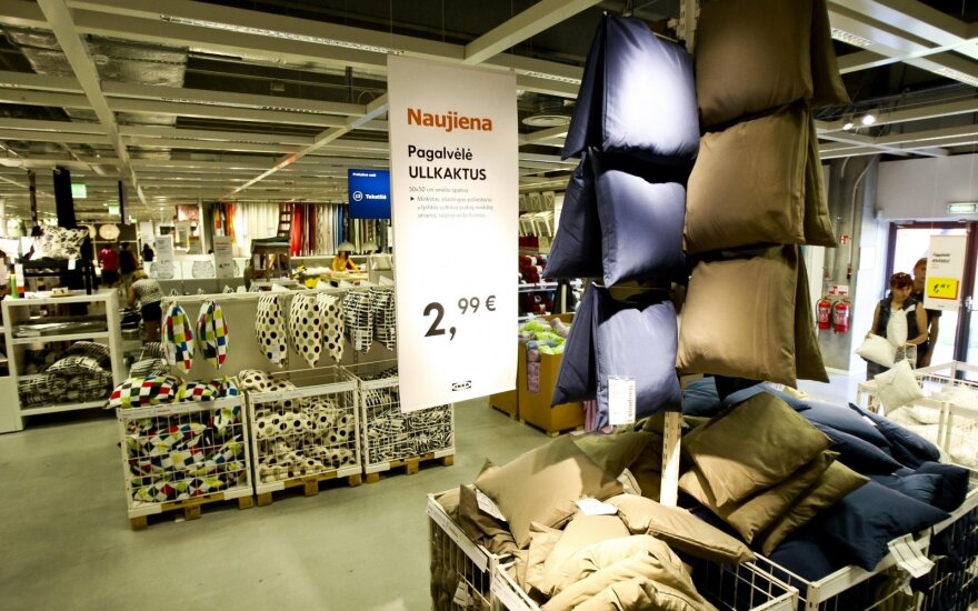 """Ikea"" savaitgaliais dirbs ilgiau"