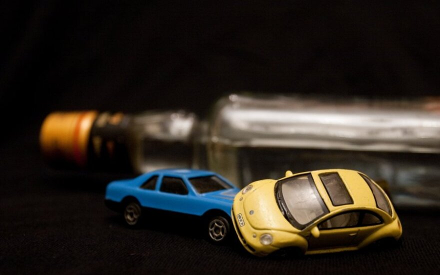 Neblaivių vairuotojų gretas papildė dar 189 stikliuko mėgėjai
