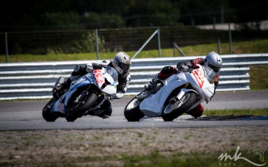 Motociklų lenktynės Team Fight Baltic Championship Estijoje