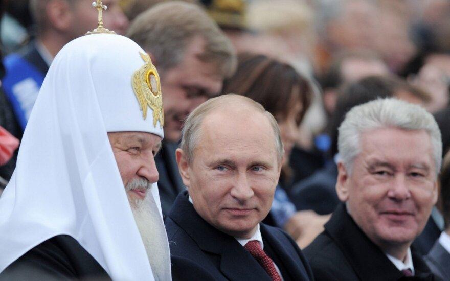 Maskvos meru perrinktas S. Sobjaninas, rodo negalutiniai rezutatai