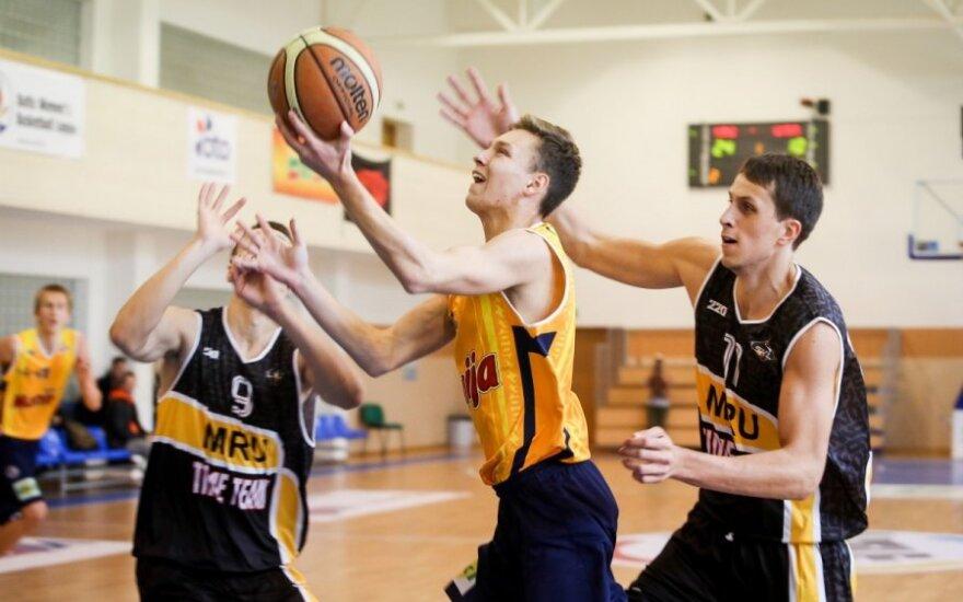 Moksleivių krepšinio lygos 2013-2014 metų sezono atidarymas