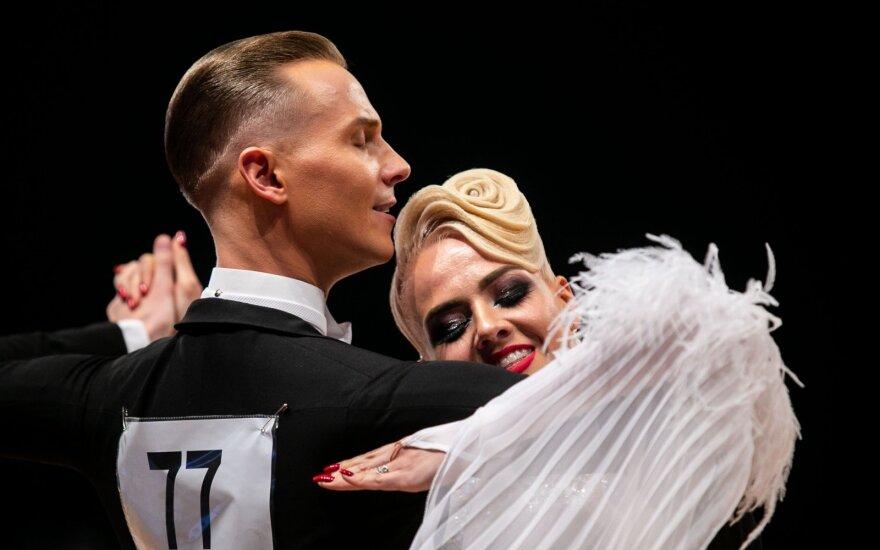 Istorinis įvykis Vilniuje: lietuviai – pasaulio standartinių sportinių šokių čempionai