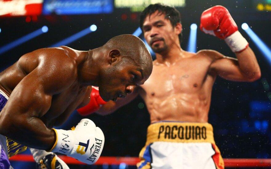 Manny Pacquiao, Timothy Bradley