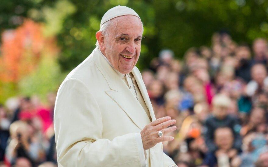 Per popiežiaus vizitą Kaune – netikėtumas: tikintieji tai pavadino Dievo ženklu