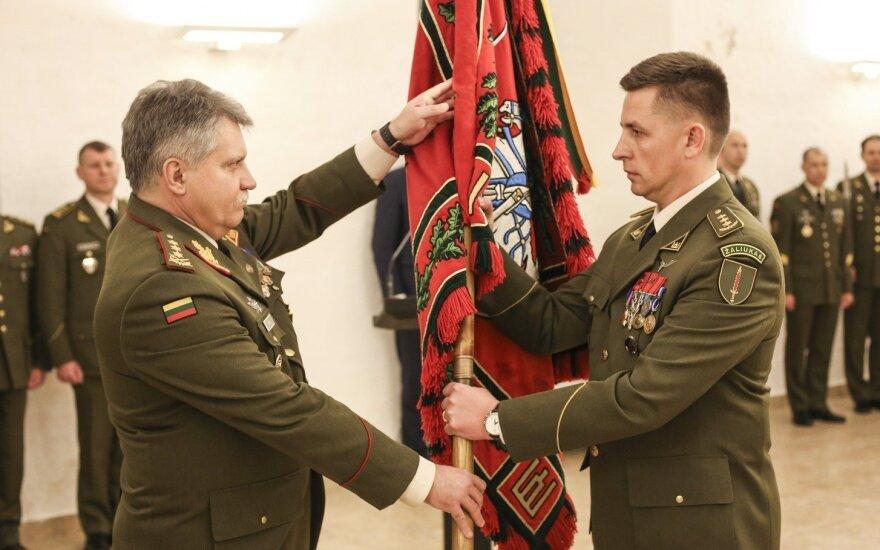 Pulkininkas Mindaugas Mažonas tapo Specialiųjų operacijų pajėgų vadu