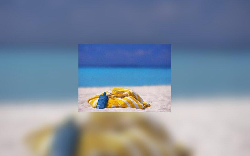 paplūdimys, kurortas, atostogos