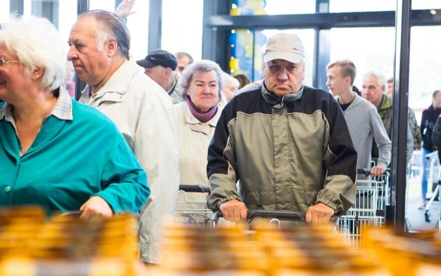 Birželį Lietuvoje prekės ir paslaugos brango sparčiausiai ES