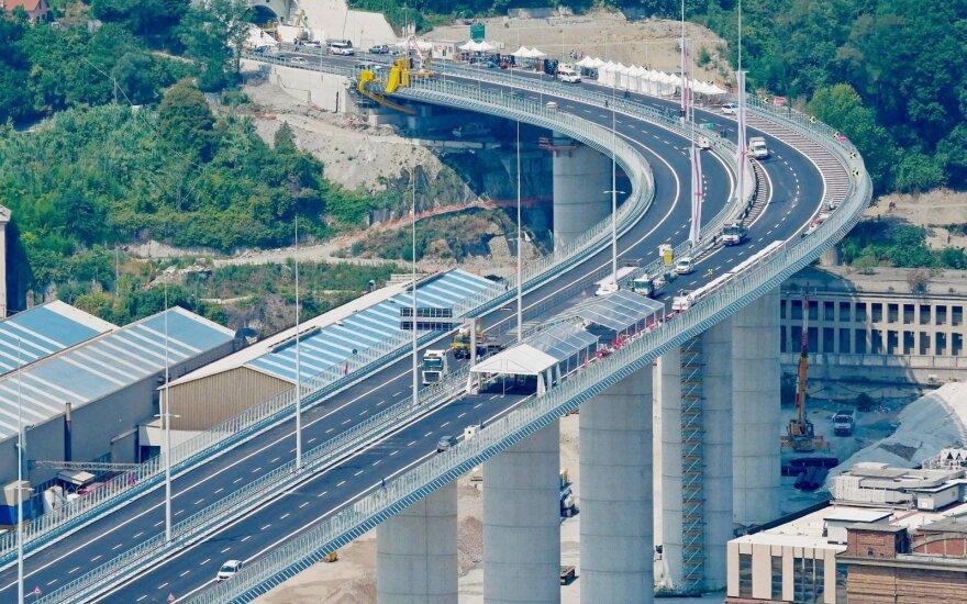 Atidaromas naujas Genujos tiltas