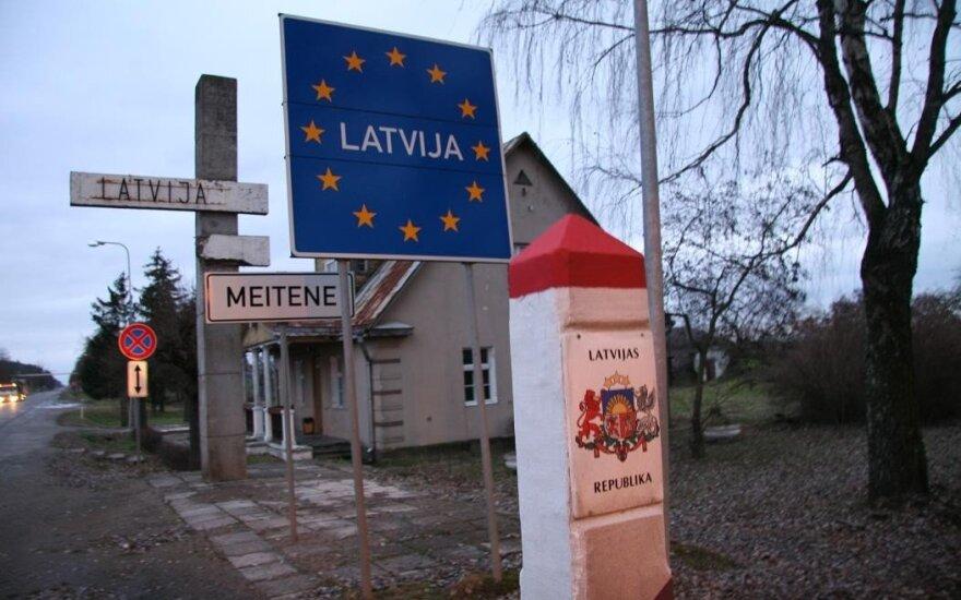 Savaitgalį žmonės aktyviai keliavo po Baltijos šalis