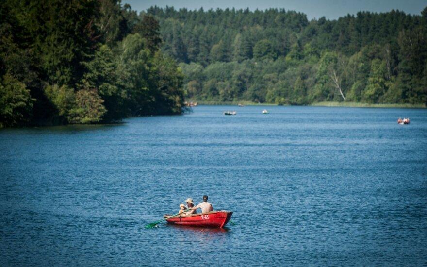 Lemtingas susitikimas prie ežero vos nesibaigė tragedija
