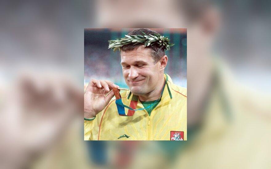 Virgilijus Alekna - Atėnų olimpinis čempionas