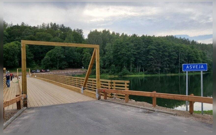 Asvejos ežere rastų viduramžių kario radinių restauravimas gali trukti metus