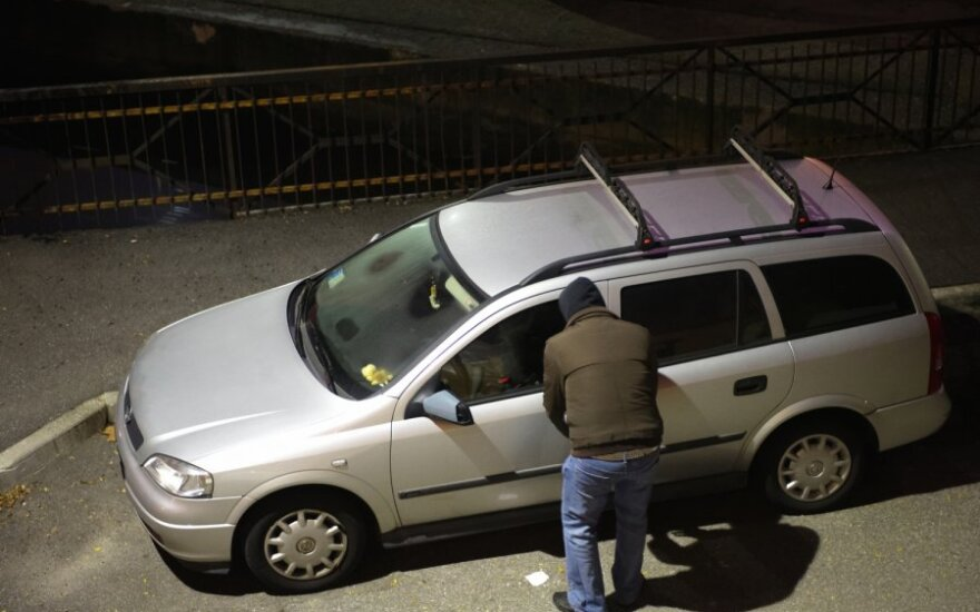 Automobilio vagystė