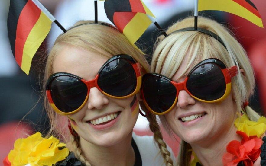 Tamsiosios Vokietijos ekonomikos dėmės