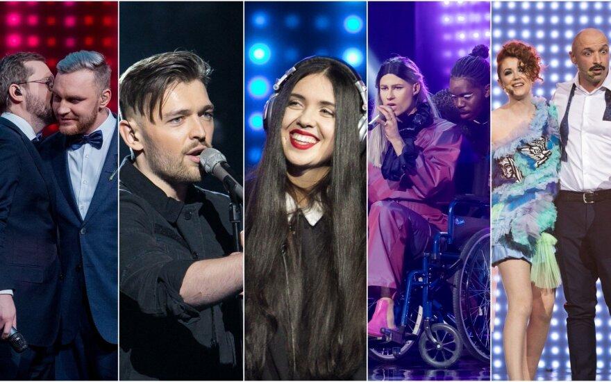 Eurovizijos atrankų pusfinalio dalyviai
