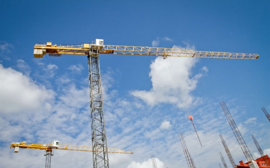 Statybas brangino padidėjęs darbo užmokestis
