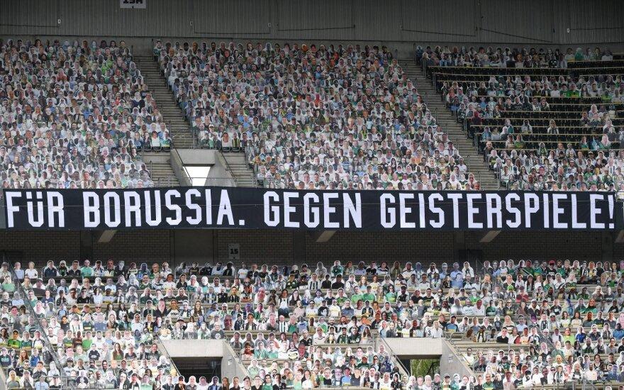 """Vokietijoje – puikus Thuramo sūnaus įvartis ir šešta iš eilės """"Borussia"""" pergalė"""