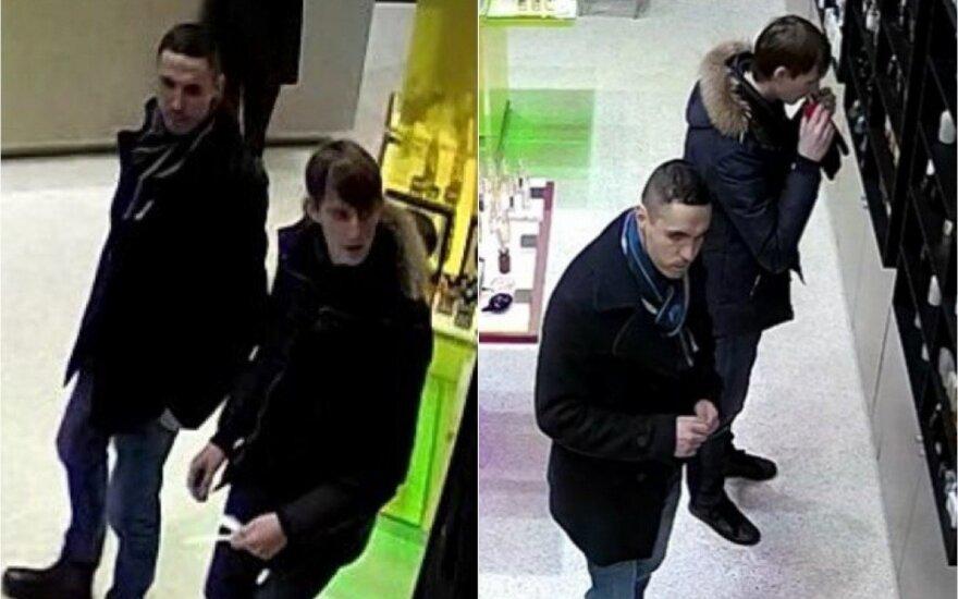 Kauno policijos pareigūnai ieško kvepalų vagių