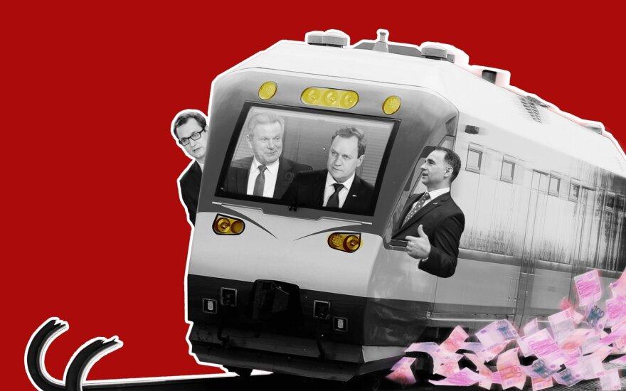"""Už """"Lietuvos geležinkelių"""" konkurso – bankroto ištikta Ispanijos bendrovė ir su Tomaševskiu pažįstamas tarpininkas"""