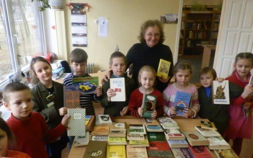 Mokykloje surengta alternatyvi knygų mugė