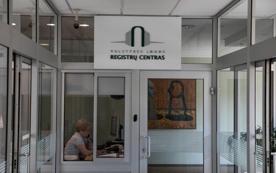 VTEK: Registrų centro darbuotojai per vėlai deklaravo savo interesus
