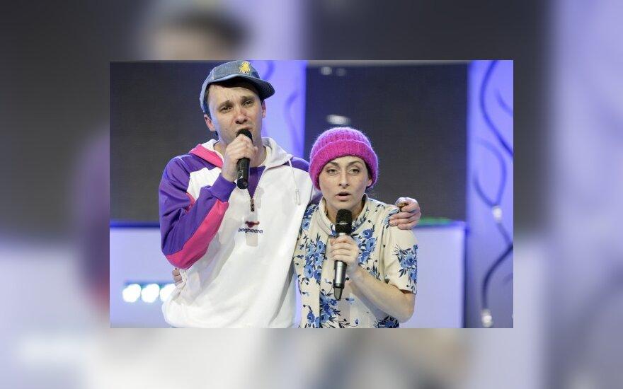 Eimutis Kvoščiauskas ir Irma Jurgelevičiūtė