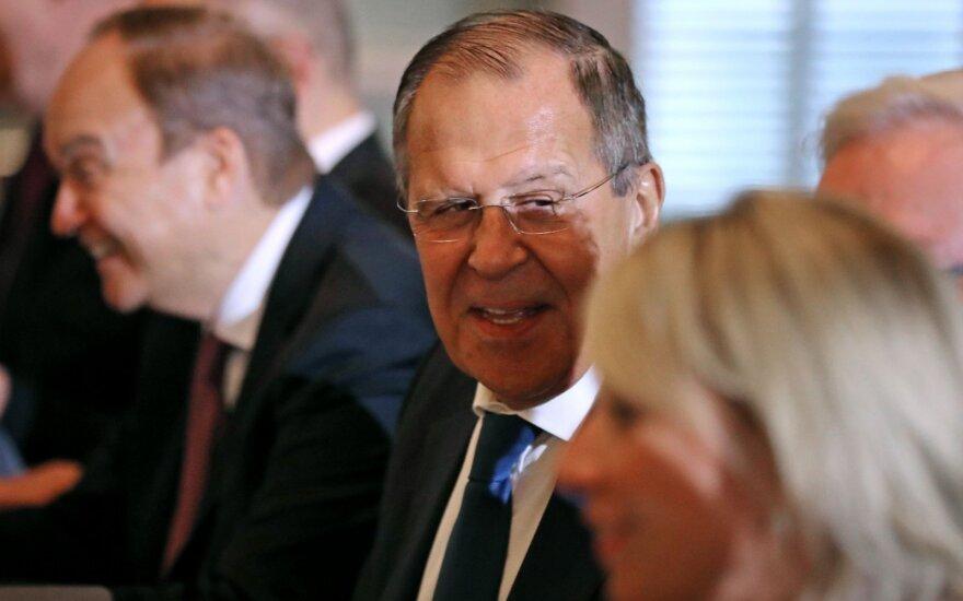 Vašingtone prasidėjo S. Lavrovo ir M. Pompeo susitikimas