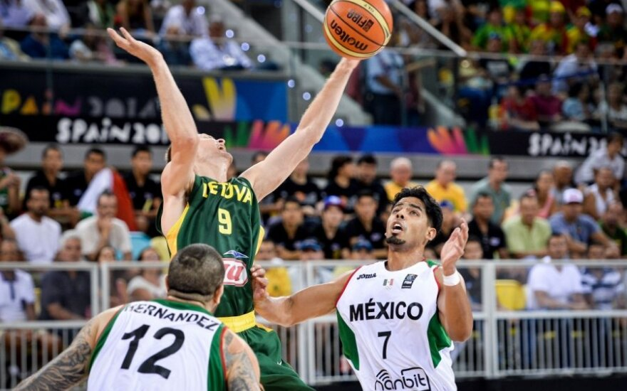 World Basketball Championship; Lithuania-Mexico