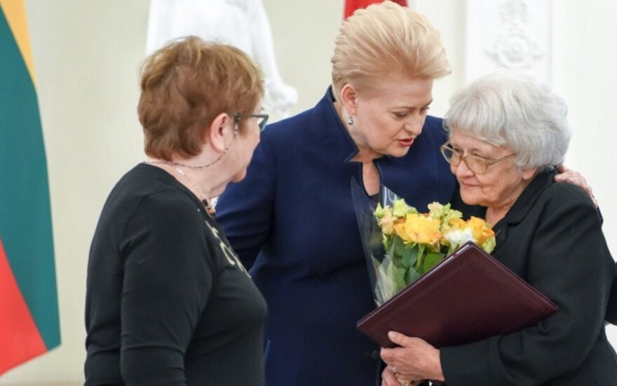 Life Saving Cross awards ceremony at the Presidential Palace in Vilnius