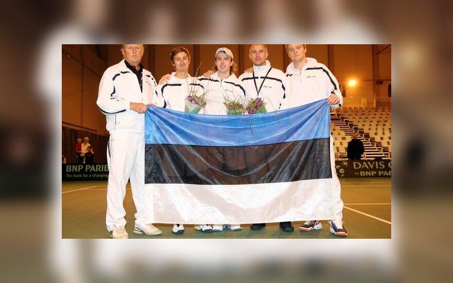 Estijos vyrų teniso rinktinė