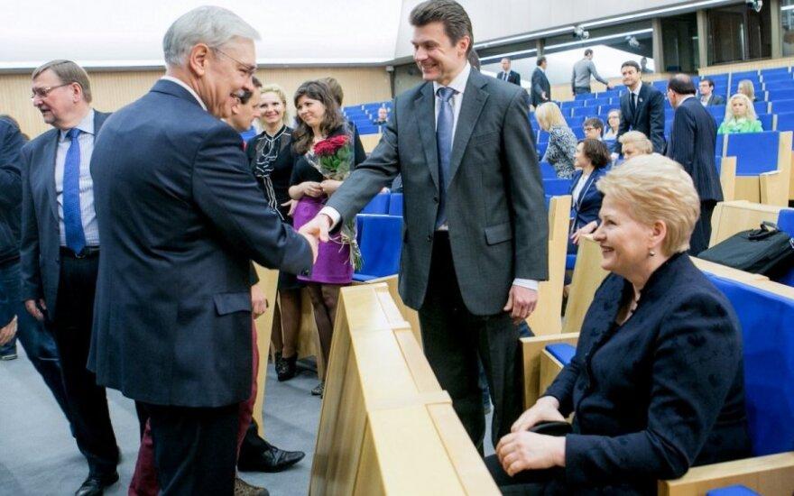 Z. Balčytis apie D. Grybauskaitę: nesikalbame jau metus