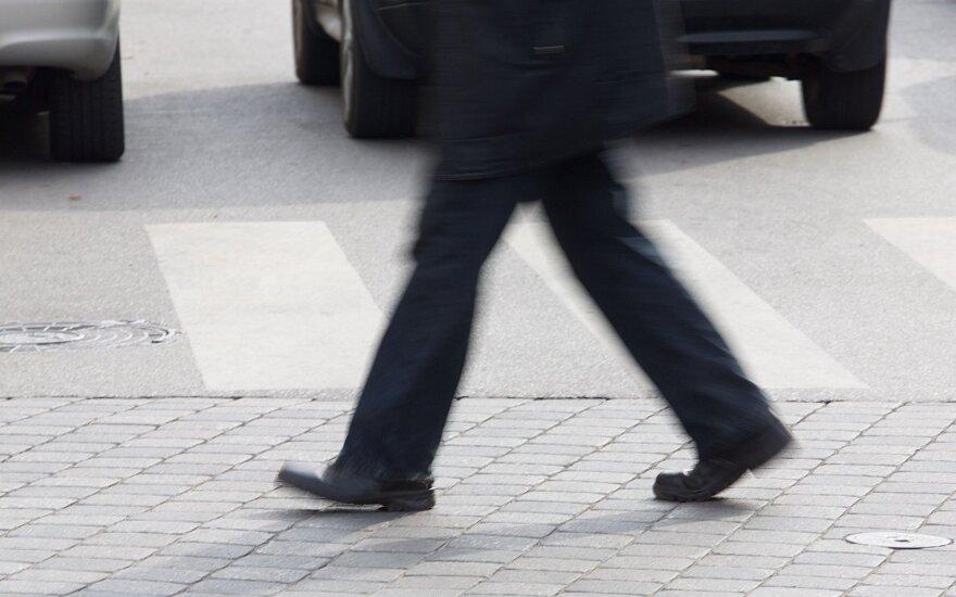 Savo gyvybės 171 nesaugantis pėsčiasis: daug, ar mažai?