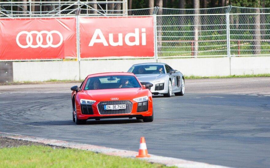 """Audi"" renginys Bikerniekuose"