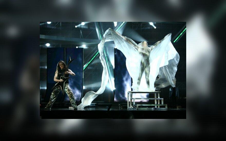 """Baltarusijos atstovas taip pat nepatenkintas """"Eurovizijos"""" režisieriais"""
