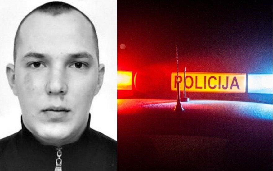 Alytaus policija ieško nuo bausmės besislapstančio vyro