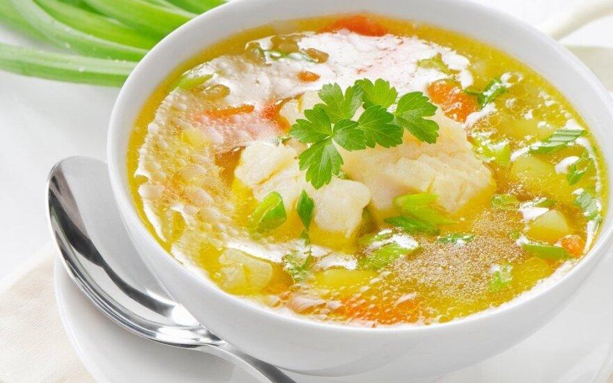 Bostono žuvies sriuba