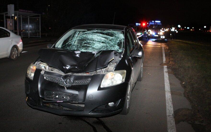 Tragiškas įvykis Vilniaus pakraštyje – Minsko plente žuvo moteris