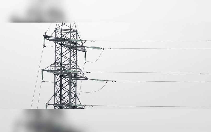 Elektros energijos kainos didėjo visame regione