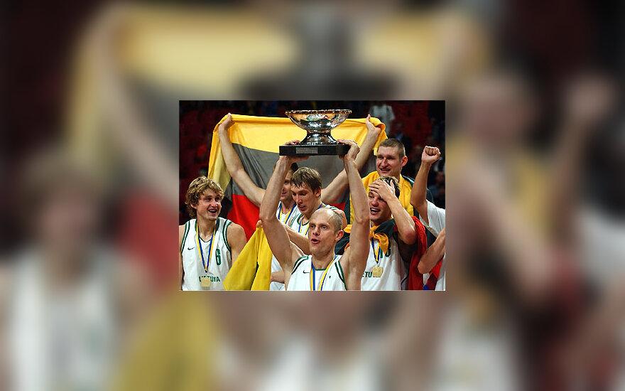 Lietuva - Europos krešinio čempionė