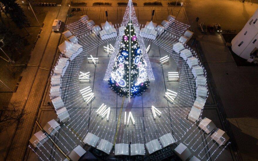 Vilnius – tarp 25-ių pasaulio miestų, kur kalėdinės šviesos tiesiog atima žadą
