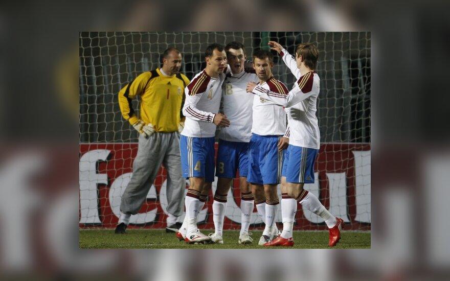 Rusijos futbolininkai