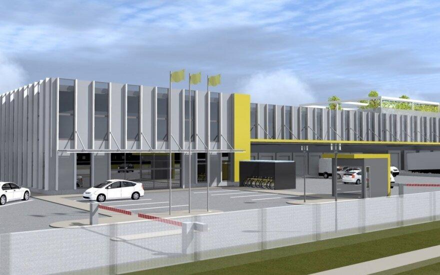Lietuvos paštas statys naują automatizuoto skirstymo logistikos centrą