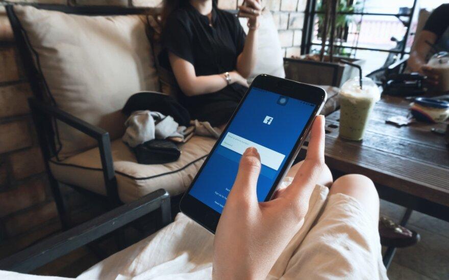 """""""Facebook"""" JAV bankams siūlo su tinklu dalytis naudotojų finansine informacija"""