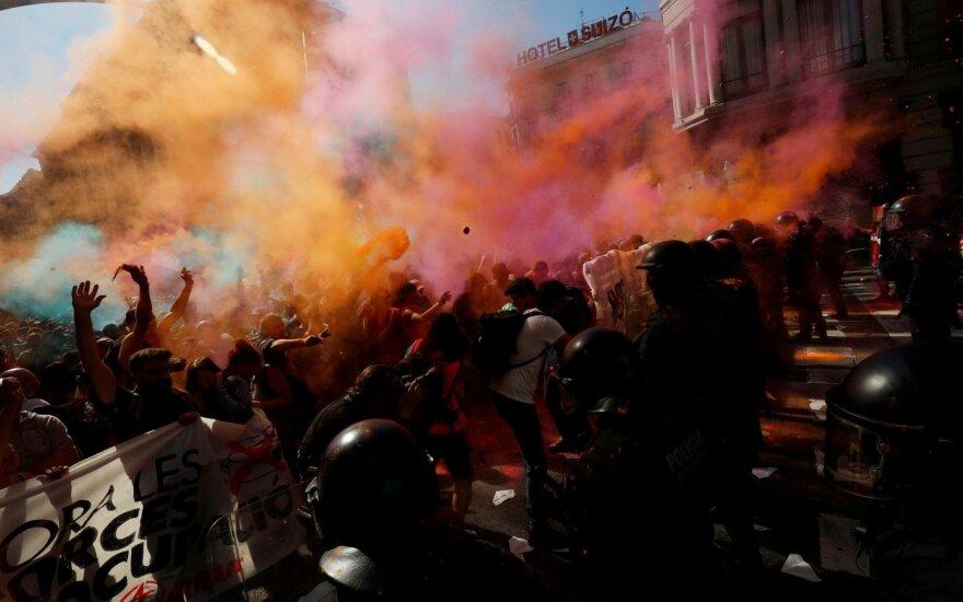 Susirėmimai Barselonoje
