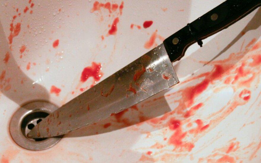 Vilniuje nužudyta moteris, įtariamieji buvo tokie girti, kad su jais nepavyko susikalbėti