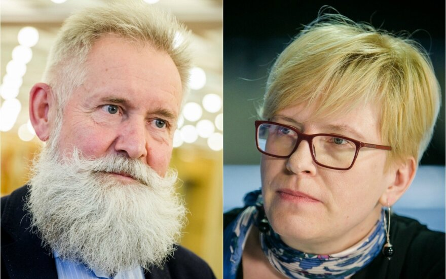Algirdas Sysas ir Ingrida Šimonytė