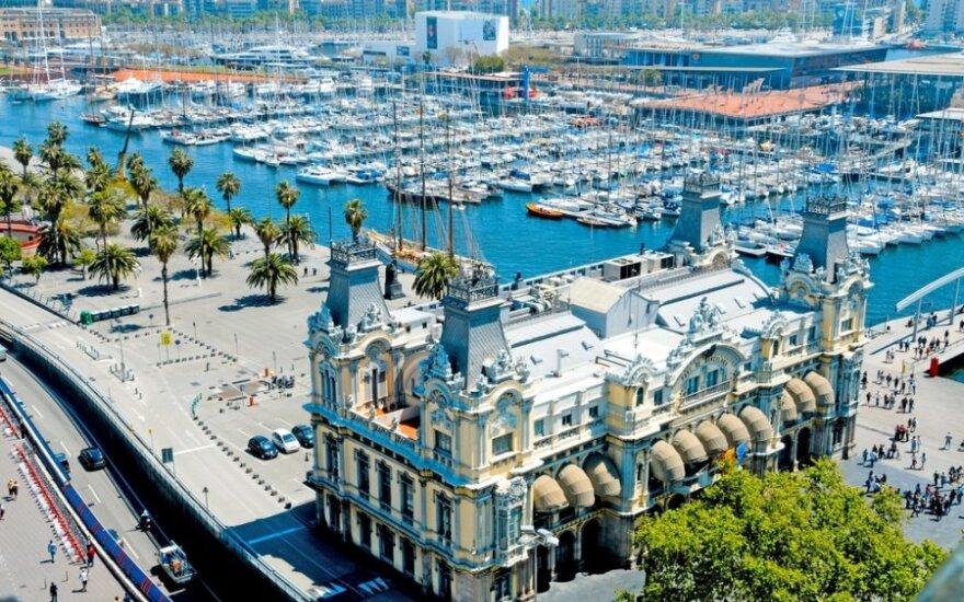 Barselona užburia savo architektūra