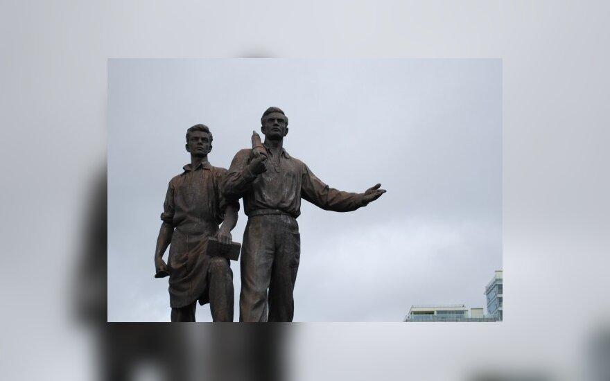 Maskvos valdžia ketina restauruoti skulptūras ant Žaliojo tilto Vilniuje