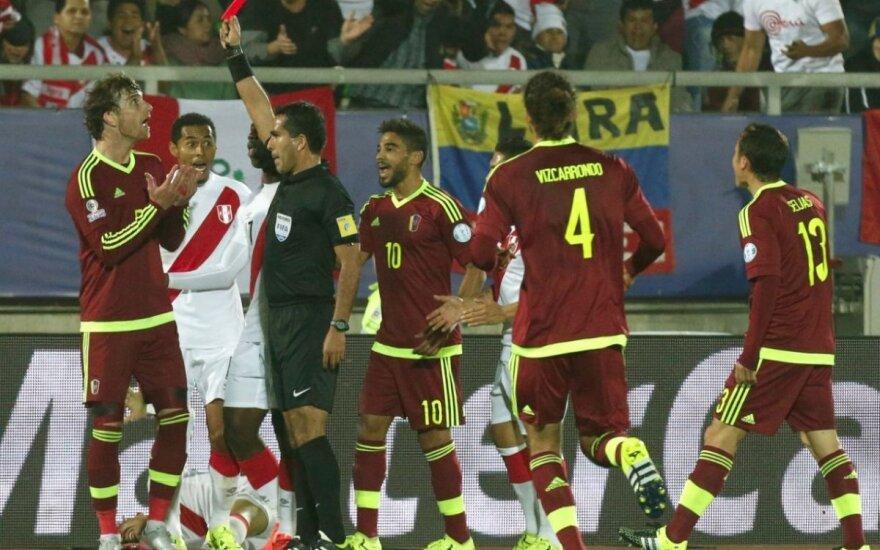"""Po Peru pergalės """"Copa America"""" C grupėje – visiška sumaištis"""